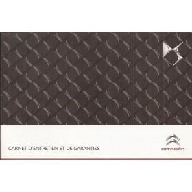 DS Onderhoudsboekje Benzine/Diesel Fabrikant 2012 ongebruikt Frans
