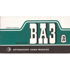 Lada Onderhoudsboekje Benzine Fabrikant 1969 ongebruikt Frans