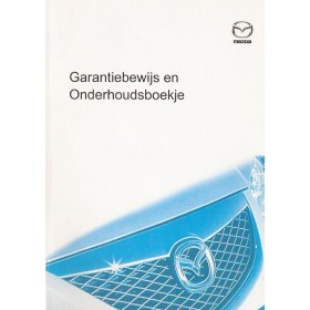 Mazda Onderhoudsboekje Benzine/Diesel Fabrikant 2005 ongebruikt Nederlands