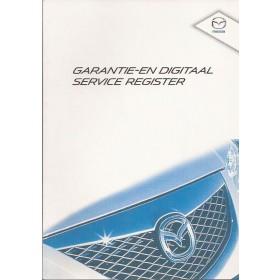 Mazda Onderhoudsboekje Benzine/Diesel Fabrikant 2009 ongebruikt Nederlands