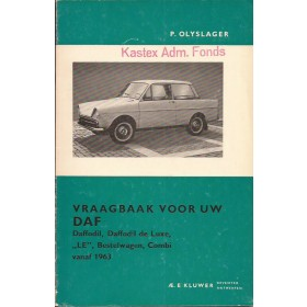 DAF Daffodil Vraagbaak P. Olyslager  Benzine Kluwer 63-65 ongebruikt   Nederlands