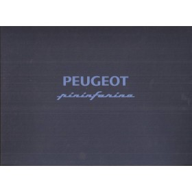 Peugeot 406 Coupe Peugeot Pininfarina, persdossier, 96, ongebruikt, Engels/Duits/Frans/Italiaans