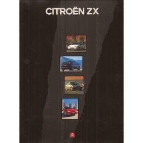 Citroen ZX, persdossier, 91, ongebruikt, Nederlands