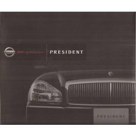 Nissan President PGF50, persdossier, 01, ongebruikt, Japans