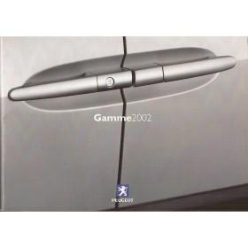 Peugeot gamma, persdossier, 02, ongebruikt, Frans