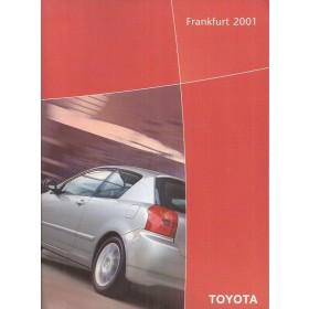 Toyota gamma, persdossier, 01, ongebruikt, Engels
