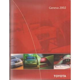 Toyota gamma, persdossier, 02, ongebruikt, Engels