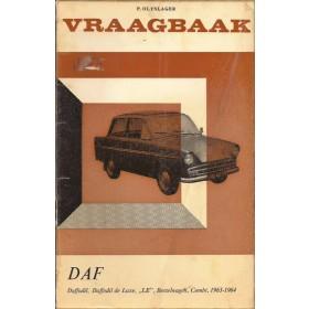 DAF Daffodil Vraagbaak P. Olyslager  Benzine Kluwer 63-65 met gebruikssporen   Nederlands