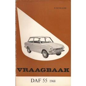 DAF 55 Vraagbaak P. Olyslager  Benzine Kluwer 68 met gebruikssporen   Nederlands