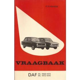 DAF 55/66 Vraagbaak P. Olyslager  Benzine Kluwer 68-76 met gebruikssporen   Nederlands