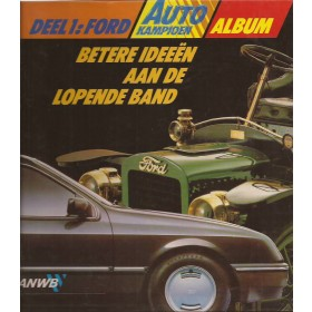 Ford Alle ANWB Album   Benzine ANWB 86-87 ongebruikt   Nederlands
