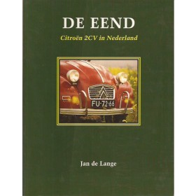 Citroen 2CV Elmar J. de Lange  Benzine Elmar 52-90 ongebruikt vouw in kaft  Nederlands