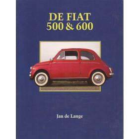 Fiat 500/600 Elmar J. de Lange  Benzine Elmar 57-75 ongebruikt   Nederlands