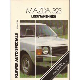 Mazda 323 Leer 'm kennen K. Ball  Benzine Kluwer 77-79 ongebruikt   Nederlands