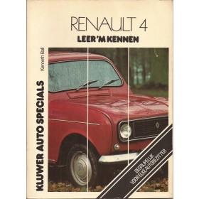 Renault 4 Leer 'm kennen K. Ball  Benzine Kluwer 69-77 met gebruikssporen   Nederlands
