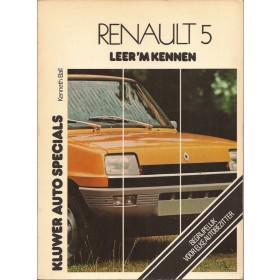 Renault 5 Leer 'm kennen K. Ball  Benzine Kluwer 72-76 met gebruikssporen   Nederlands