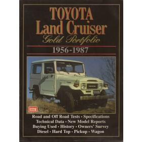 Toyota Land Cruiser R. Clarke  Benzine Brookland 56-87 met gebruikssporen   Engels