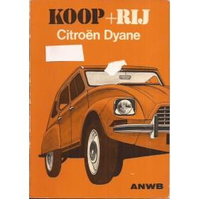 Citroen Dyane Koop + rij   Benzine ANWB 75 met gebruikssporen   Nederlands