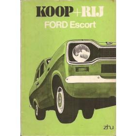 Ford Escort Koop + rij  Mk1 Benzine ANWB 74 met gebruikssporen   Nederlands