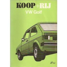Volkswagen Golf Koop + rij   Benzine ANWB 74 met gebruikssporen   Nederlands