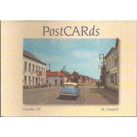 Citroen DS PostCARDs M. Carpedi    03 ongebruikt   Nederlands