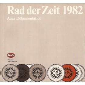 Audi Alle Rad der Zeit Rad der Zeit   Fabrikant 82 ongebruikt   Duits