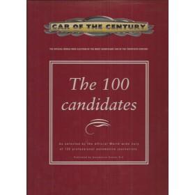 Alle modellen Car of the Century The 100 candidates    98-98 ongebruikt   Engels