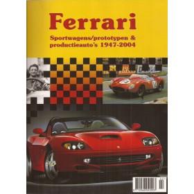 Ferrari Alle Sportwagens, prototypen en productieauto's J. Haakman  Benzine Onschatbare Klassieker 1947-1994 ongebruikt   Nederlands