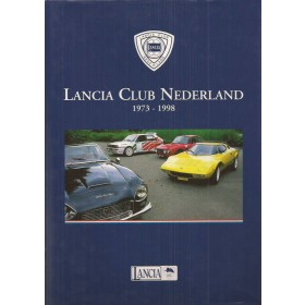 Lancia Alle 25 jaar Lancia Club Nederland   Benzine Lancia Club Nederland 73-98 ongebruikt   Nederlands