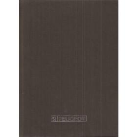 Peugeot  Blanco notitieboek    Fabrikant  ongebruikt   Nederlands