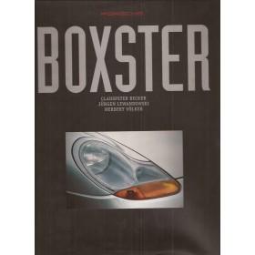 Porsche Boxster Introductieboek C. Becker  Benzine Fabrikant 96 met gebruikssporen   Engels