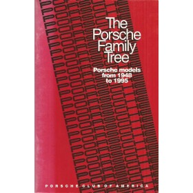 Porsche Alle The porsche family tree    Porsche Club America 48-95 ongebruikt   Engels
