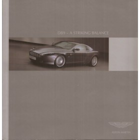 Aston Martin DB9  introductiemap 2003 met gebruikssporen Engels