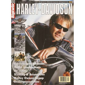 Harley-Davidson Jubileumuitgave Bigtwin Magazine 03 ongebruikt Nederlands