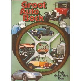Alle modellen Groot Auto Boek overzichtsboek R. de la Rive Box 77 met gebruikssporen losse pagina's Nederlands