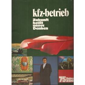 Alle modellen KFZ-betrieb 75 Jahre ZDK 84 met gebruikssporen Duits