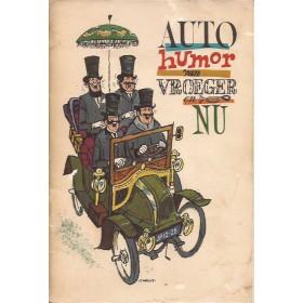Algemeen Autohumor van vroeger en nu Shell ca 65 met gebruikssporen Nederlandstalig