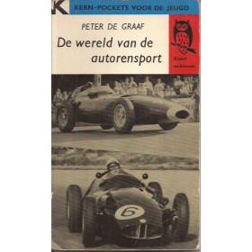 Sport De wereld van de autorensport overzichtsboek P. de Graaf 59 met gebruikssporen Nederlands