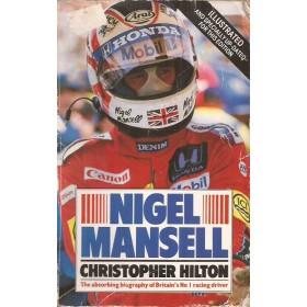 Sport Nigel Mansell overzichtsboek C. Hilton 87 met gebruikssporen Engels