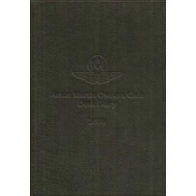 Aston Martin Desk Diary 2008 overzichtsboek ongebruikt Engels
