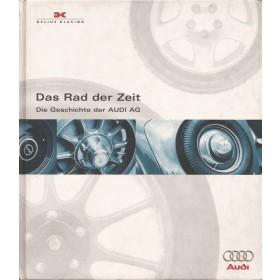 Audi Rad der Zeit overzichtsboek Audi AG 97 met gebruikssporen Duits