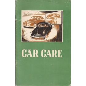 Algemeen Car Care British School of Motoring overzichtsboek 1958 Castrol met gebruikssporen Engels