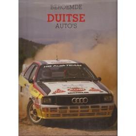 alle modellenBeroemde Duitse Auto´s overzichtsboek P. Roberts Rebo1985met gebruikssporen Nederlands