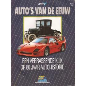 ANWB Auto's van de eeuw 08-88 Alle modellen ANWB Auto Kampioen 88 met gebruikssporen lichte vochtschade Nederlands