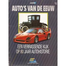 ANWB Auto's van de eeuw 08-88 Alle modellen ANWB Auto Kampioen 88 met gebruikssporen Nederlands