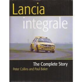 Lancia Delta HF Integrale The complete story P. Collins Benzine Crowood 79-99 ongebruikt Engels