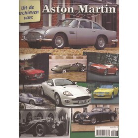 Aston Martin Alle modellen J. Haakman Uit de archieven van Benzine 13-09 met gebruikssporen Nederlands