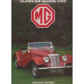 MG Glans en glorie van MG R. Aspden 22-84 met gebruikssporen Nederlands