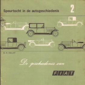 Fiat Alle modellen Speurtocht in de autogeschiedenis VAM 1899-1971 met gebruikssporen Nederlands