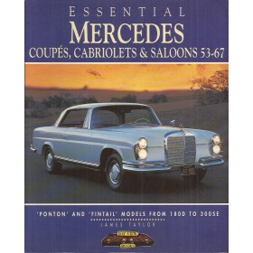 Mercedes Coupe Cabriolet Saloon Essential met gebruikssporen 1953-1967 Engels